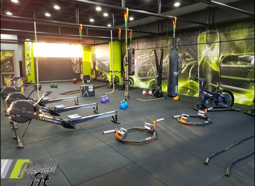 Real Cross Fitness & Boxing Area