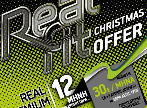 RealFit Christmas Offer